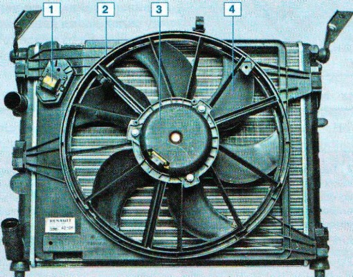 Вентилятор кондиционера калина 5